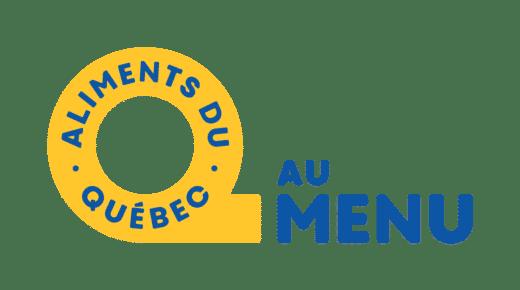 Aliments du Quebec Logo Au Menu