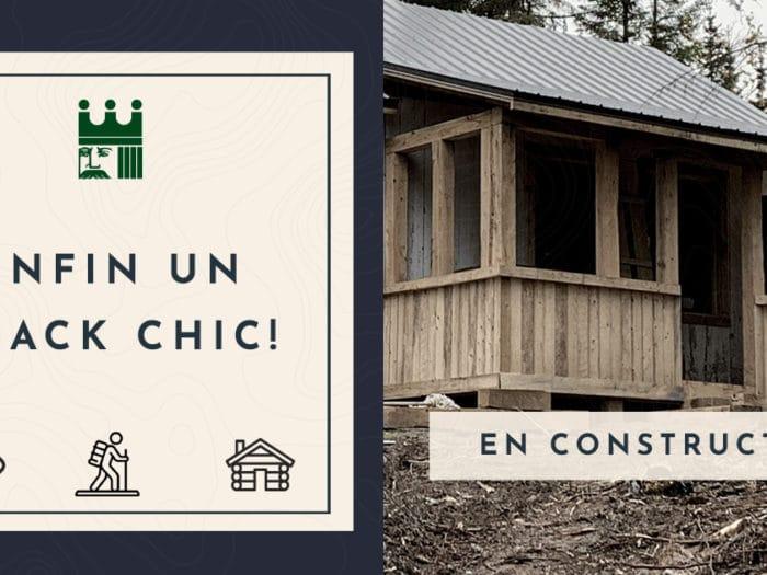 Enfin un shack chic! Bienvenue au chic-shack !